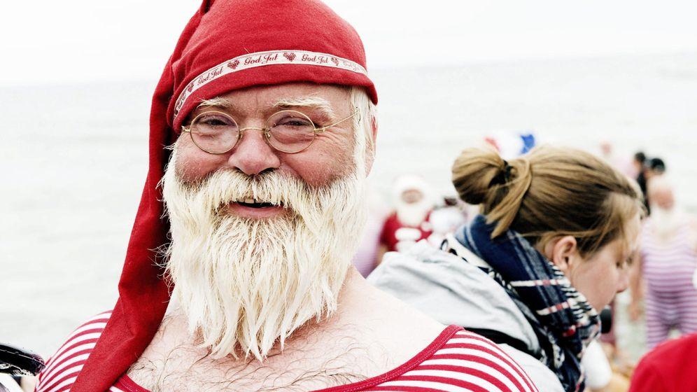 Foto: Papá Noel. EFE/Erik Refner