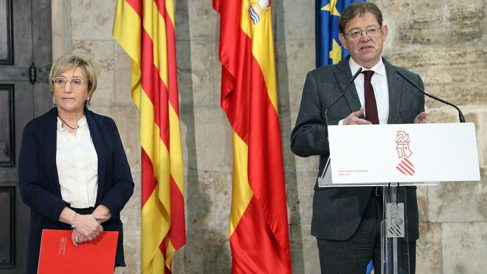 Foto: Ximo Puig junto a la consellera de Sanidad, Ana Barceló. (EFE)