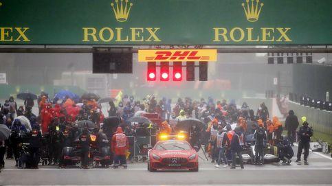 En directo F1 | Diluvio y bandera roja en el circuito de Spa: Así no se puede correr