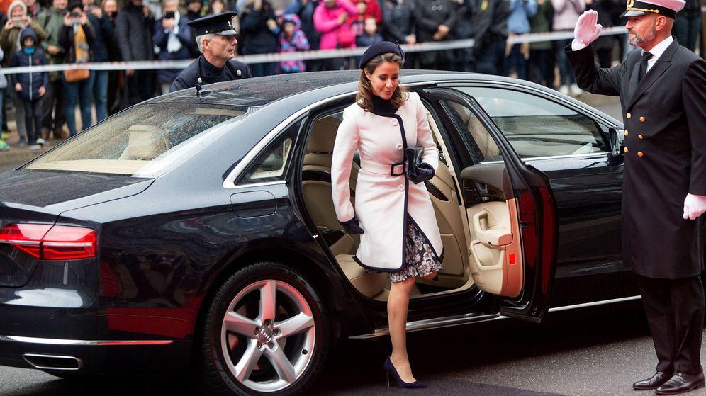 Foto:  La princesa Marie en la apertura del Parlamento. (Getty)