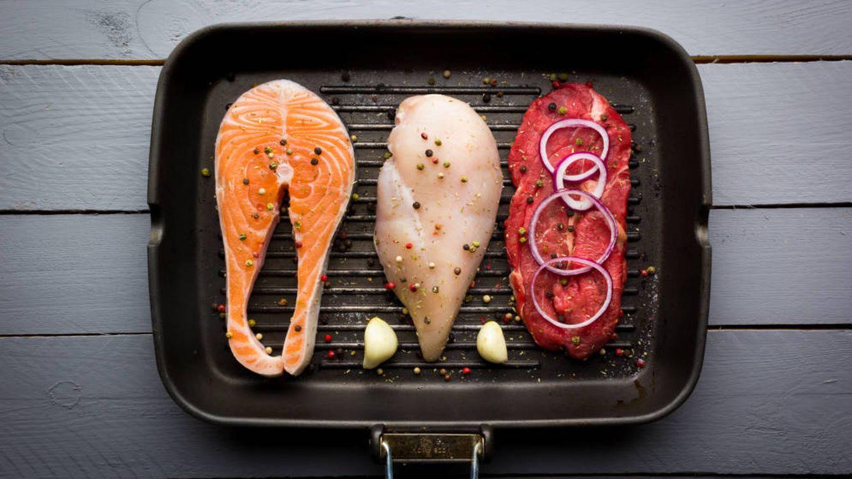5 alimentos que sí son casi proteína pura