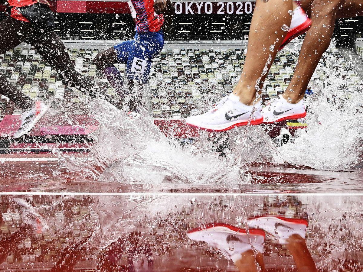 Foto: Imagen de la prueba de obstáculos (EFE)