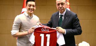 Post de Özil denuncia racismo en Alemania tras una foto con Erdogan y deja la selección
