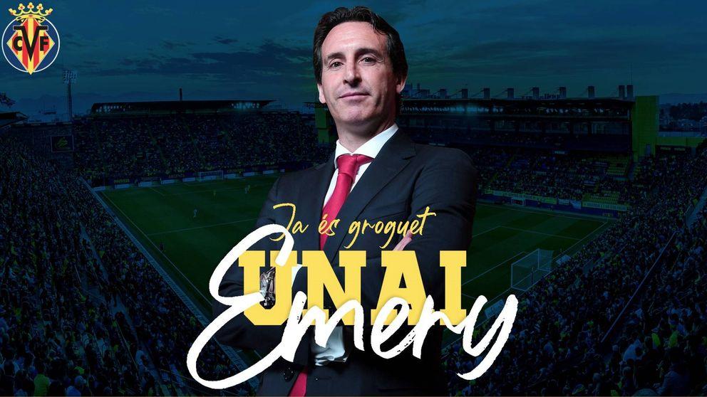 Unai Emery ficha por el Villarreal: regresa a España tras fracasar en París y Londres