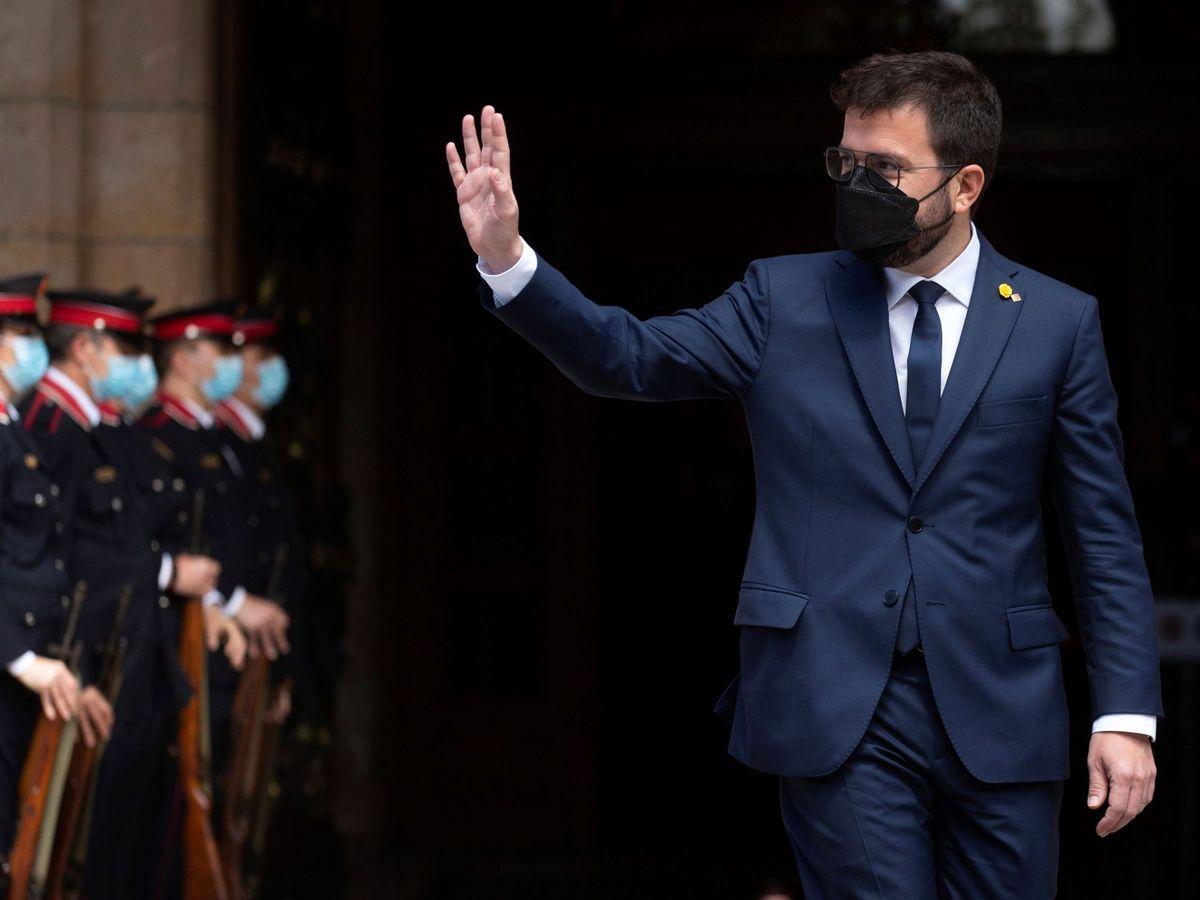 Foto: El nuevo presidente de la Generalitat, Pere Aragonès. (EFE)