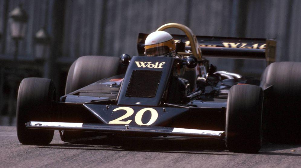 Foto: Jody Scheckter con su Wolf Racing en el GP de Mónaco de 1978. (Imago)
