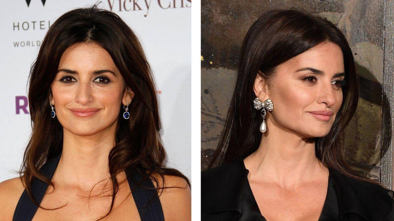 El antes y el después de Penélope Cruz, cómo rejuvenecer con el maquillaje adecuado. (Getty)