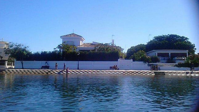 La casa del Litri y Carolina Adriana en Punta Umbría, Huelva.