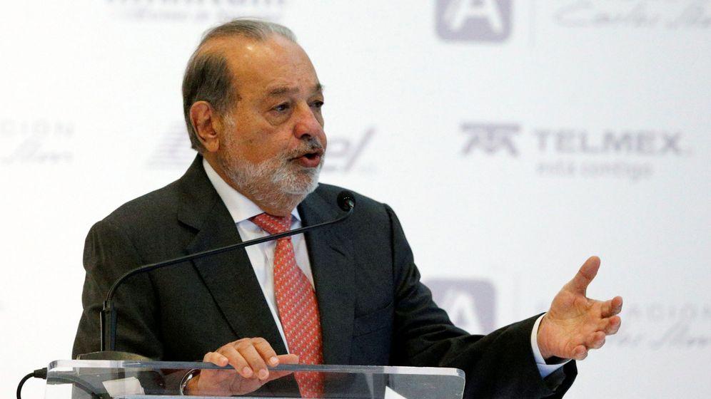 Foto: Carlos Slim, principal accionista de FCC