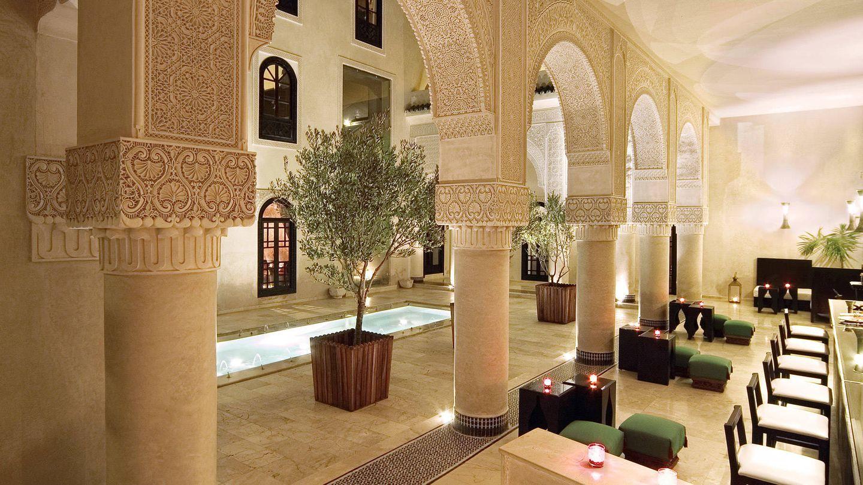 Este riad va a juego con la ciudad imperial de Fez. (Cortesía)