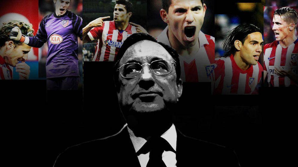 Foto: Forlán, De Gea, Diego Costa, Kun Agüero, Falcao, Torres... todos fueron objetivo de Florentino Pérez.