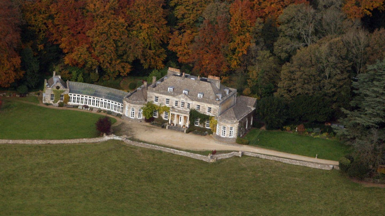 Gatcombe Park, residencia de la princesa ANa de Inglaterra. (Getty)