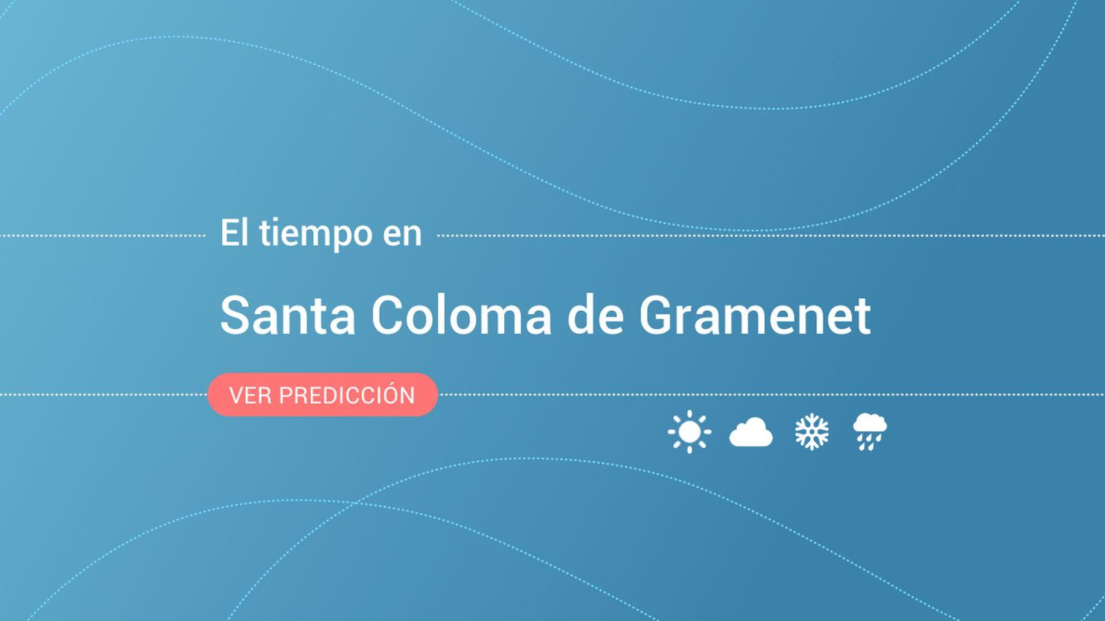 Foto: El tiempo en Santa Coloma de Gramenet. (EC)