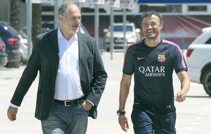 Zubizarreta: Con Luis Enrique el Barça recupera la energía perdida