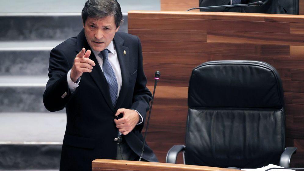 Foto: Javier Fernández, presidente de la gestora del PSOE. (EFE)