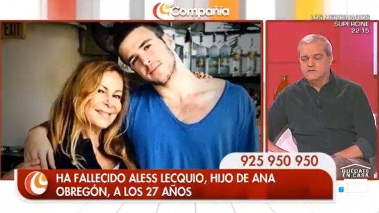 Ramón García se derrumba al dedicar su programa a Álex Lequio y Ana Obregón