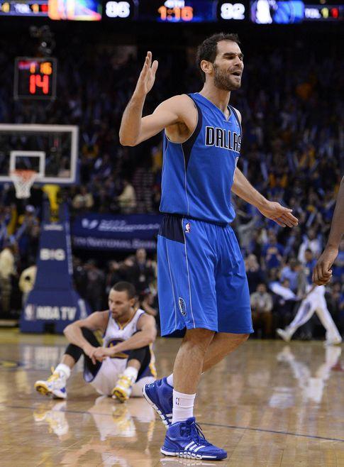 Foto: José Manuel Calderón volvió a ser decisivo para los Dallas Mavericks.