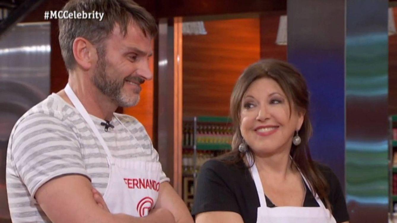 Foto: Fernando Tejero y Loles León en 'MasterChef Celebrity'