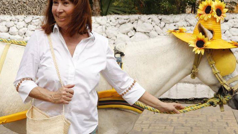 Carmen Martínez-Bordiú en Yucatán. (Turismo de Yucatán)
