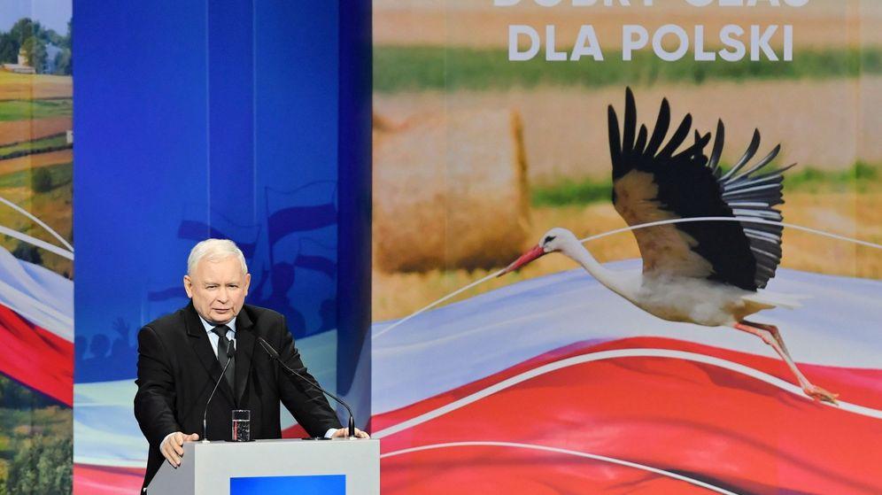 Foto: Jaroslaw Kaczynski, líder del partido Ley y Justicia (PiS). (Reuters)