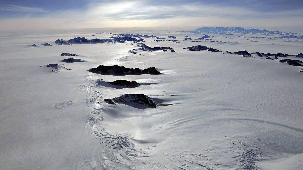 Foto: Los mares árticos se descongelan. Foto: Efe.