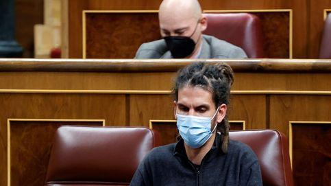 El secretario de Organización de Podemos, Alberto Rodríguez, renuncia a su reelección