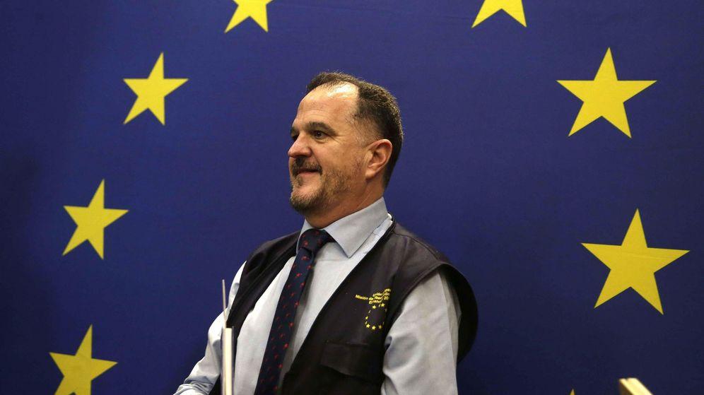 Foto: El candiato de la coalición PP+Cs, Carlos Iturgaiz. (EFE)