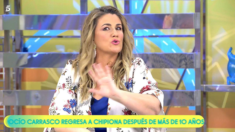 Carlota Corredera. (Mediaset)