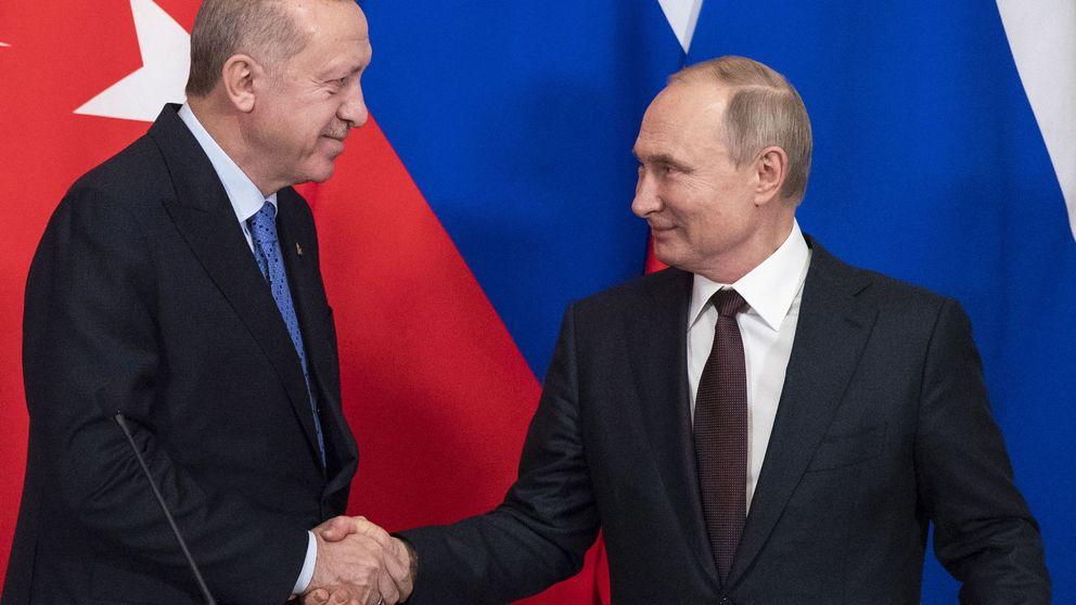 Rusia y Turquía establecerán un alto el fuego en Siria para desescalar el conflicto