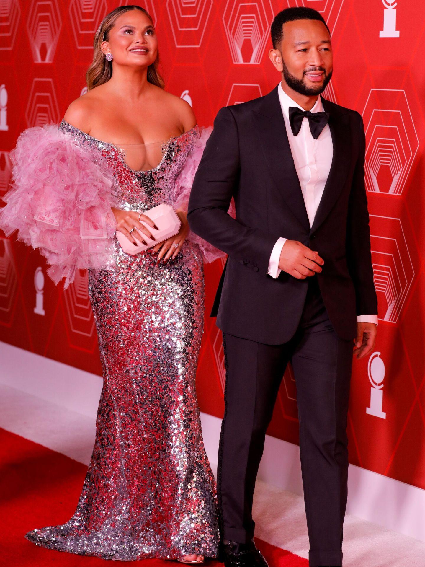 Chrissy Teigen y John Legend. (Reuters)