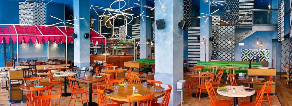 Foto: Interior del que fue restaurante de los Messi en Barcelona.