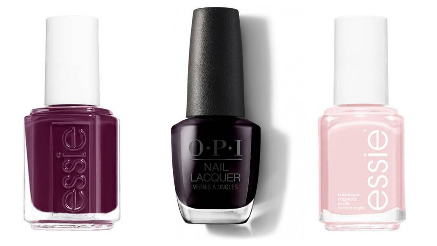 Bahama Mama, Lincoln Park After Dark y Mademoiselle (Essie / OPI).
