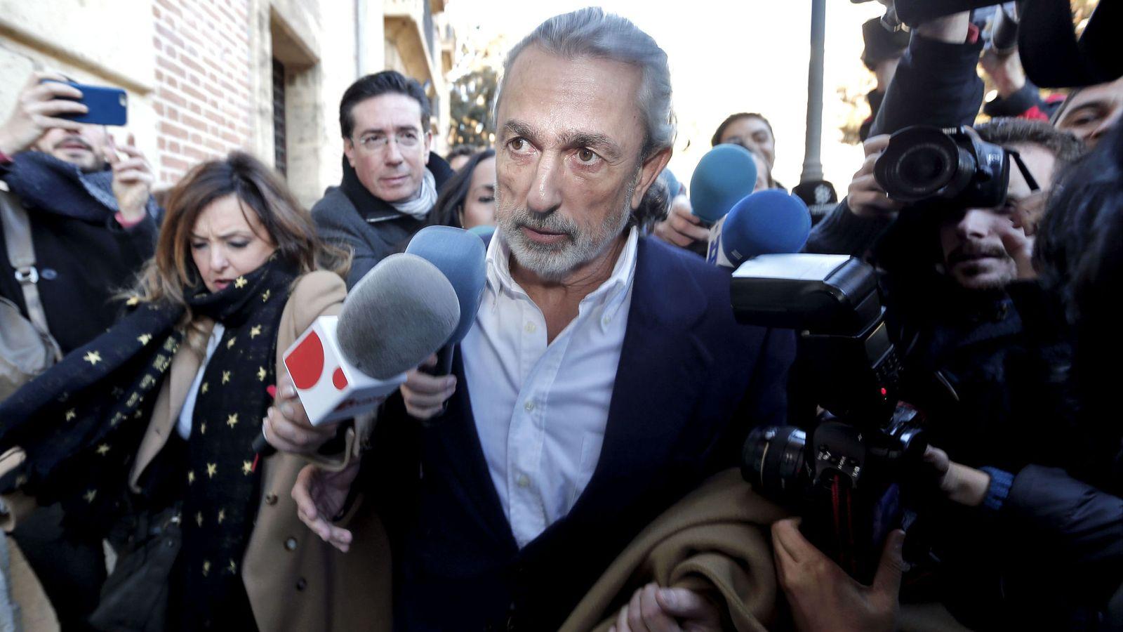 Foto: El cabecilla de la trama Gürtel Francisco Correa. (EFE)