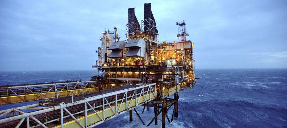 Foto: Plataforma petrolífera en el Mar del Norte. (Reuters)