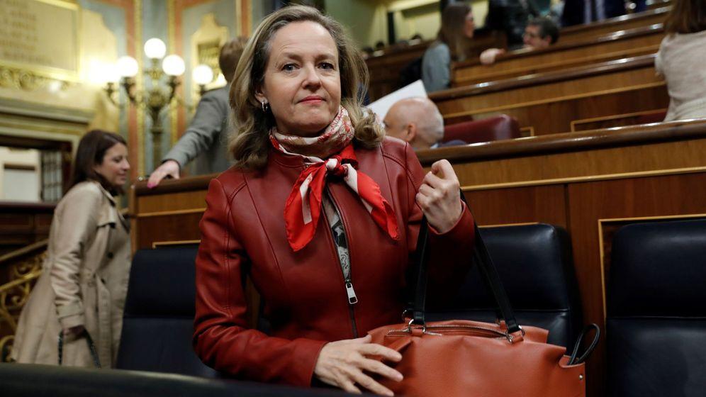 Foto: La vicepresidenta de Asuntos Económicos, Nadia Calviño. (EFE / Chema Moya)