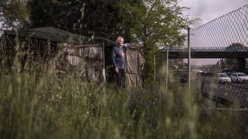 Albergues colapsados y gente viviendo en caravanas: No quiero que mi familia lo sepa