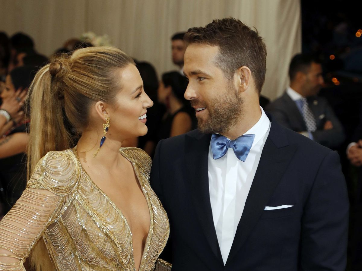 Foto: Blake Lively y Ryan Reynolds, en la gala MET de 2017. (Reuters)