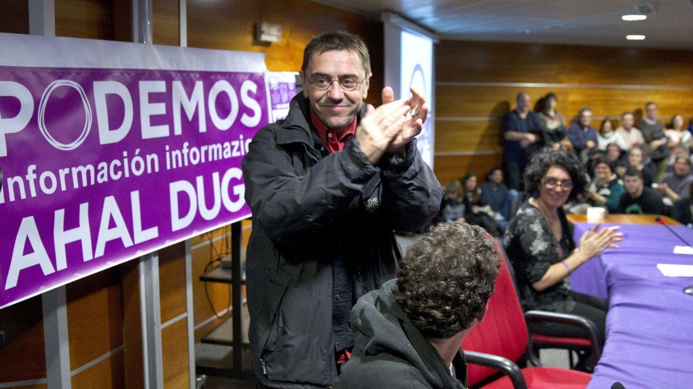 Foto: El secretario de Proceso Constituyente y Programa de Podemos, Juan Carlos Monedero (Efe)