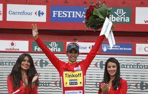Contador sentencia la Vuelta a España ganando en Ancares