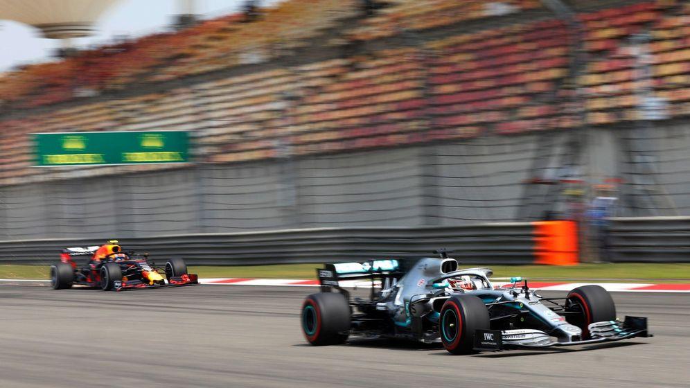 Foto: Sesión de práctica para el Gran Premio de China. (Efe)