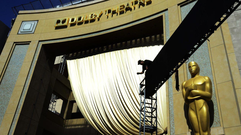Foto: Imagen de archivo de los preparativos de la ceremonia de los Oscar (EFE)