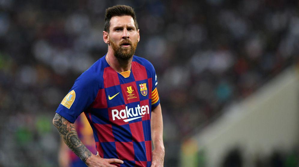 Foto: Leo Messi, en la pasada Supercopa de España. (Reuters)