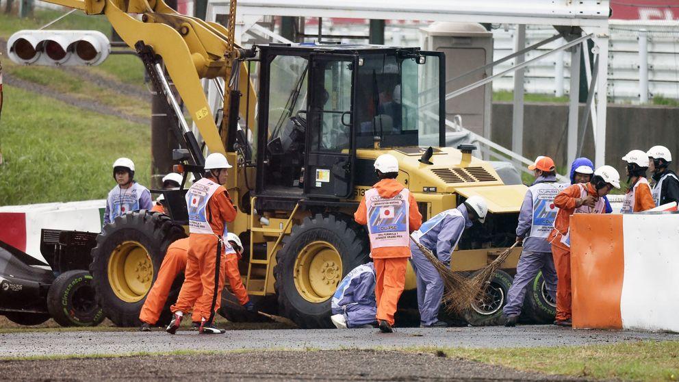 El impacto de Bianchi arrancó su arco de seguridad que aguanta 6Tn