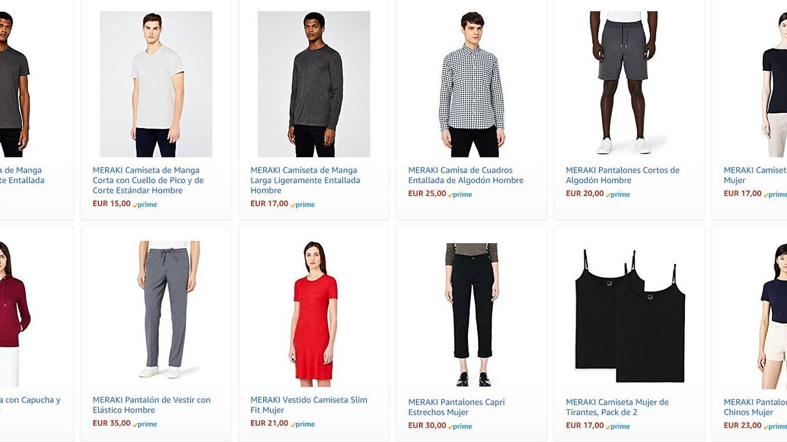 Amazon  Amazon estrena marca blanca de moda en Europa y pone en guardia al  sector textil b0ed4575725