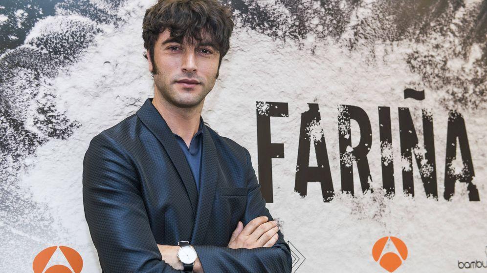 Foto: Entrevista a Javier Rey, protagonista de 'Fariña'.