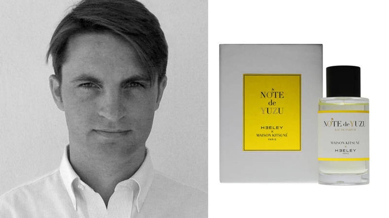 James Heeley, perfumista y propietario de la firma.