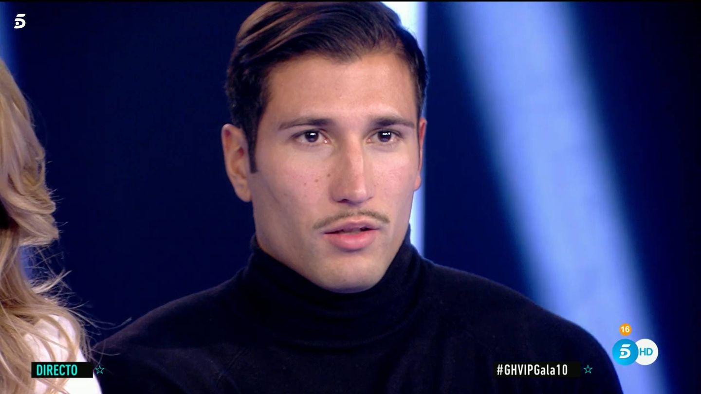 Gianmarco, en 'GH VIP 7'. (Telecinco)