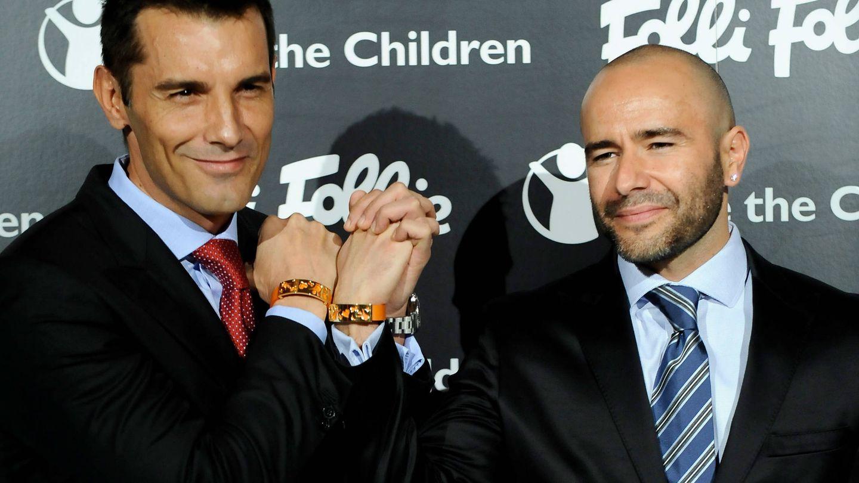 Jesús Vázquez y Roberto Cortés. (Getty)