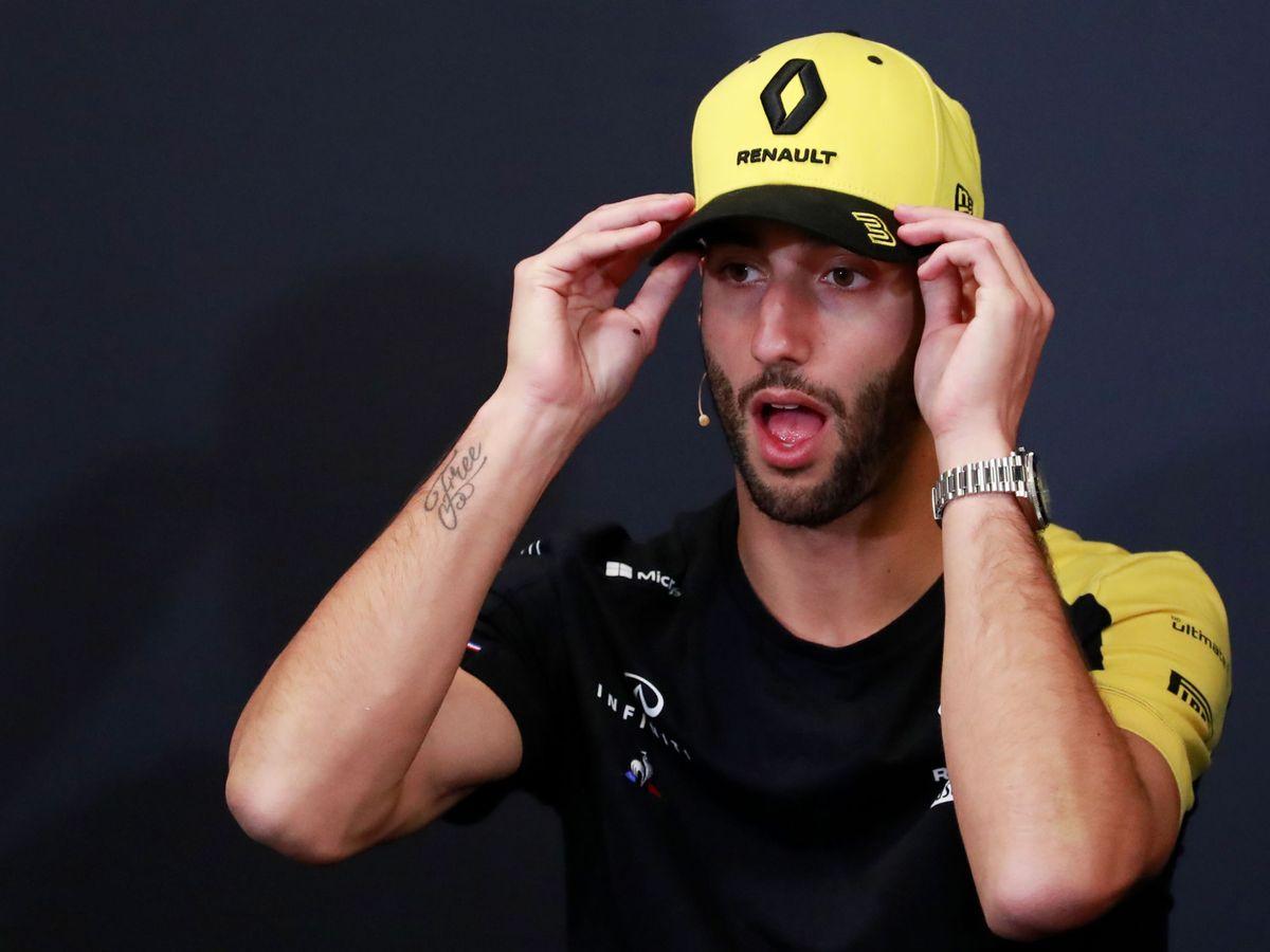 Foto: Daniel Ricciardo prevé un comienzo difícil para muchos pilotos después del largo parón. (Reuters)