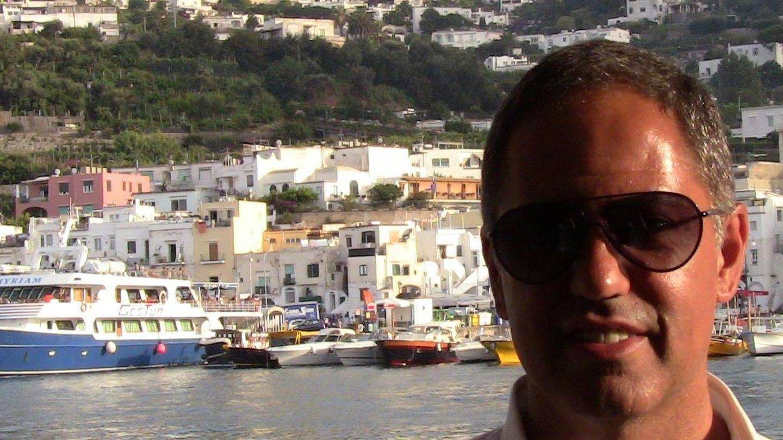 Heribert Padrol, marido de Elsa Artadi, en su perfil de Facebook.